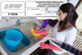 regularizar empleada doméstica. www.presupuestofamiliar.com.ar