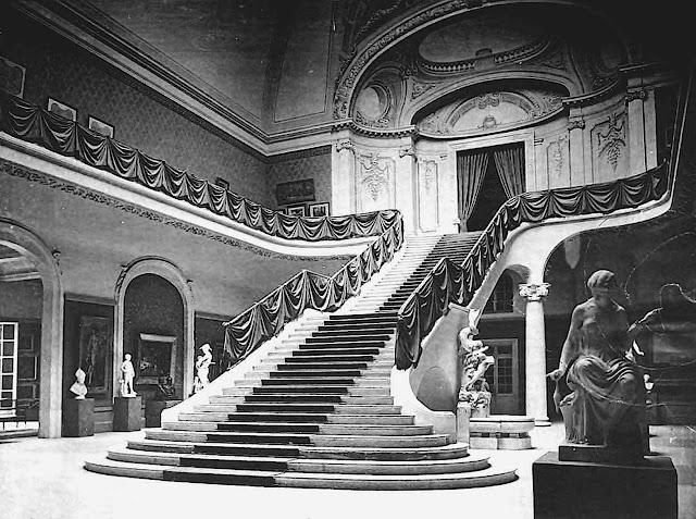900 Paris World's Fair stairs, a photograph
