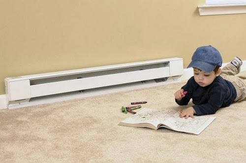 child-safe baseboard heater