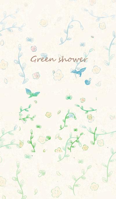 Green shower (JP)