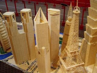 Torre Eifel palillos de dientes.