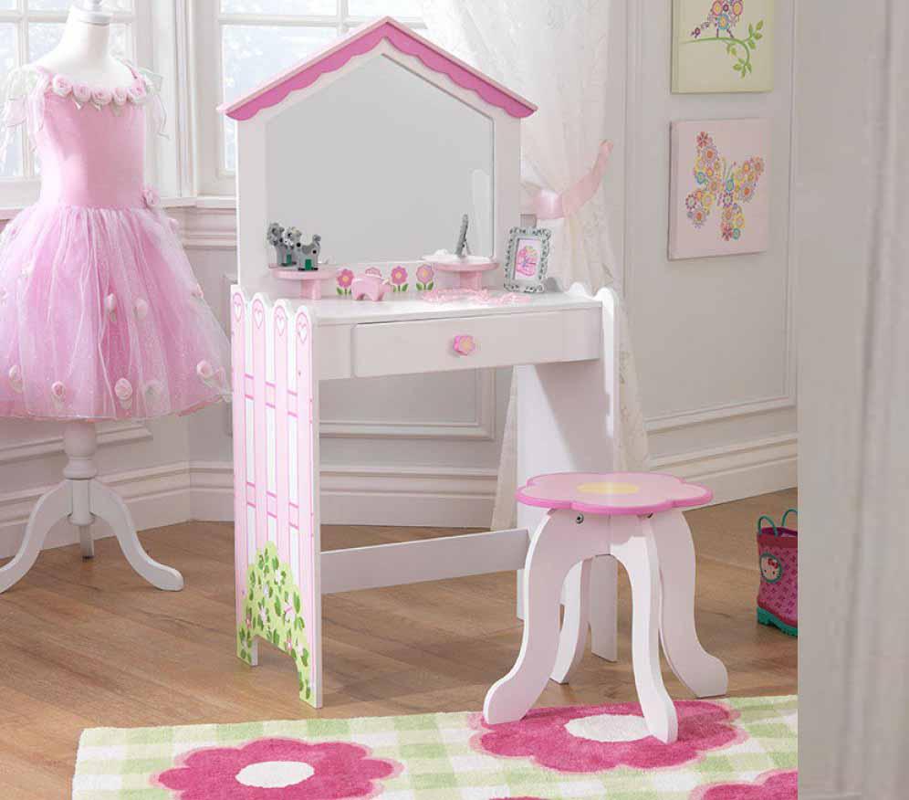 Girls Dressing Table Design Ideas For Kids Bedroom Interior 2018