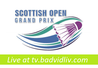 Scottish Open Grand Prix 2017 live streaming
