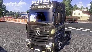 Actros MP4 DYCE CARRIER