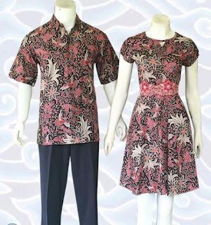 contoh model baju batik couple remaja