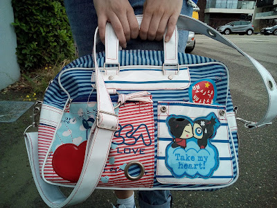 pucca love handtas bag fashion mode style