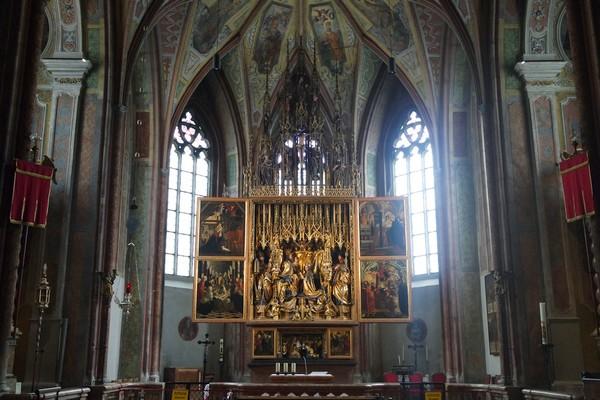 autriche haute-autriche salzkammergut sankt wolfgang église