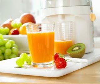 Uống nước ép hoa quả điều trị viêm amidan hiệu quả