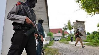 Polda Aceh Tewaskan Satu Orang Anggota Di Minimi
