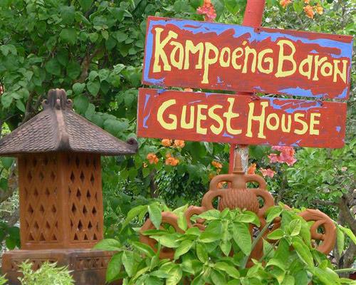 Tinuku.com Landscape design Kampoeng Baron restaurant, guest house, campsite and art gallery as ethnic village resort