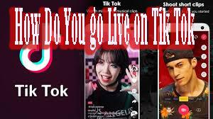 How Do You go Live on Tik Tok 1