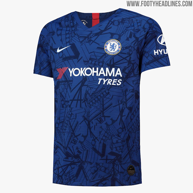 finest selection 09650 4c2b9 Chelsea 19-20 Home Kit Released - Footy Headlines