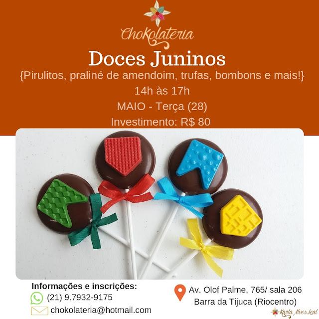 Curso de Doces Juninos - Chokolateria Maio 2019