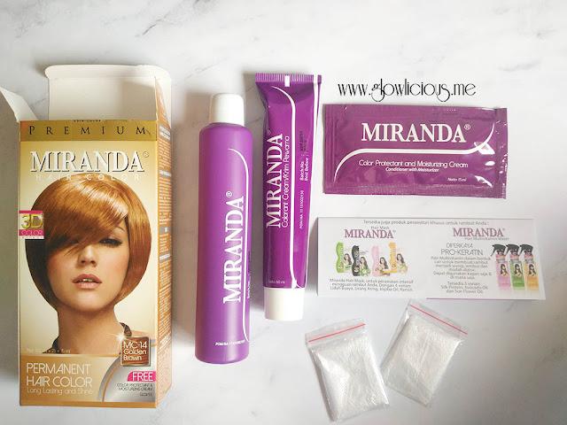 Miranda Hair Color Premium 3D in Golden Brown