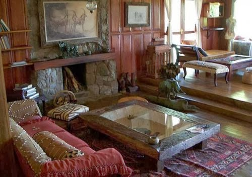 Country house and cottage living room style ideas - Country living room furniture ideas ...