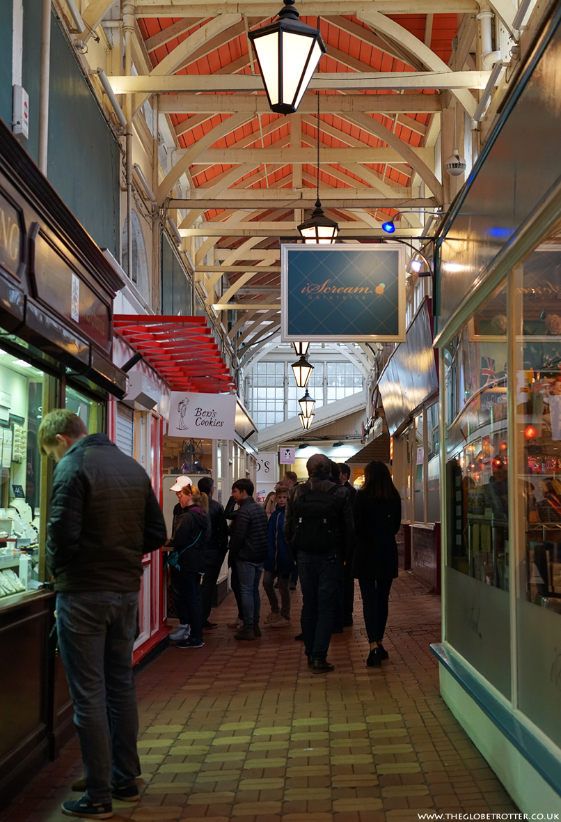 The Covered Market in Oxford