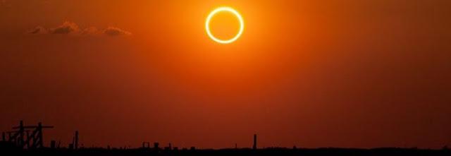 Acompanhe o eclipse solar anular ao vivo no YouTube