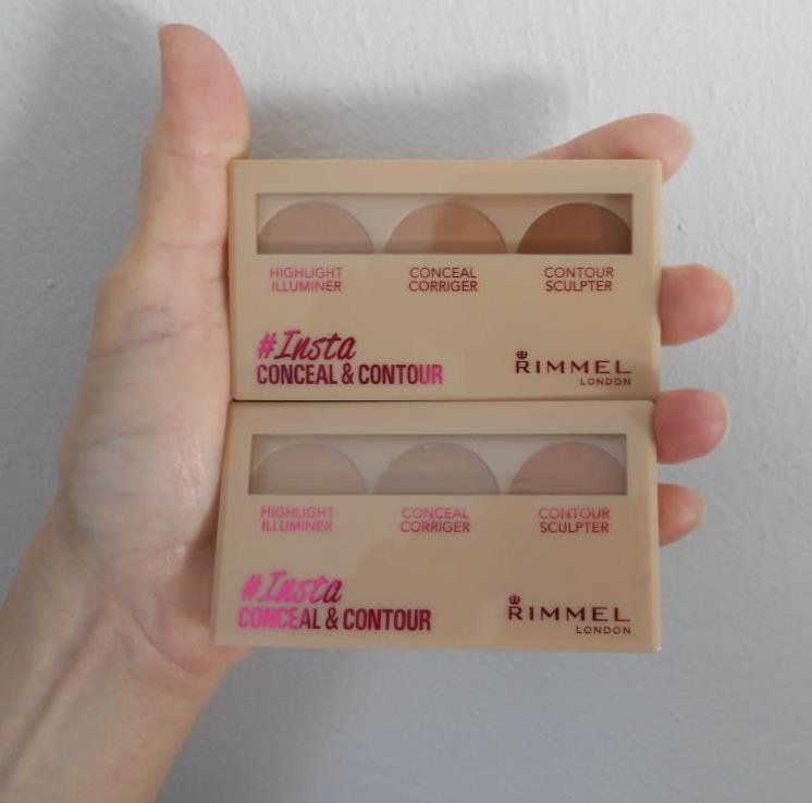 #Insta Conceal & Contour palettes