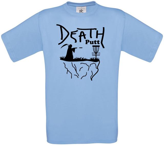 Death Putt Disc Golf Shirt