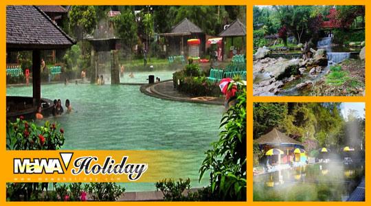 Beragam Tempat Pemandian Air Panas di Bandung
