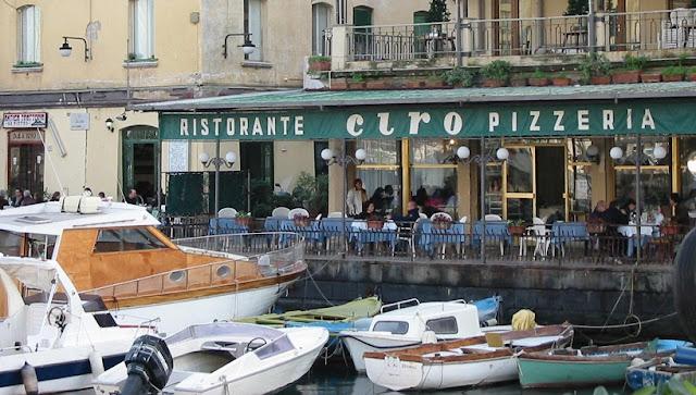 Restaurant Ciro à Mergellina em Nápoles