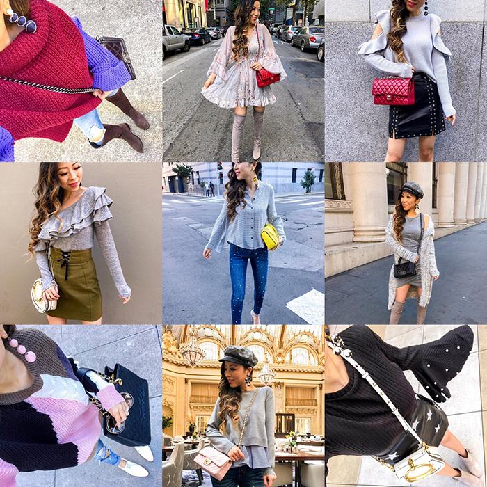 instagram outfit roundup, style blog, san francisco street style, fall outfit ideas