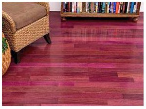 Exotic Purpleheart Flooring