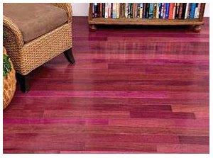 Fantastic Floor Exotic Purpleheart Flooring Will Leave