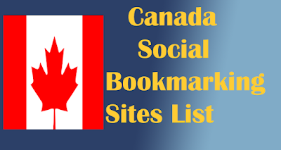 Canada Social Bookmarking Sites List