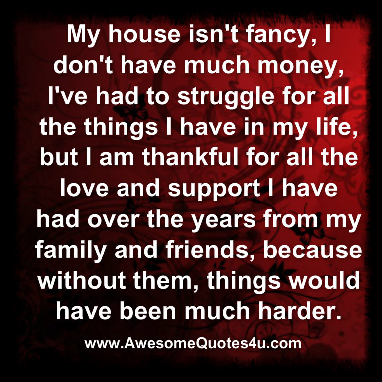 Thankful For Family Quotes: Awesome Quotes: I'm Thankful For My Family And Friends