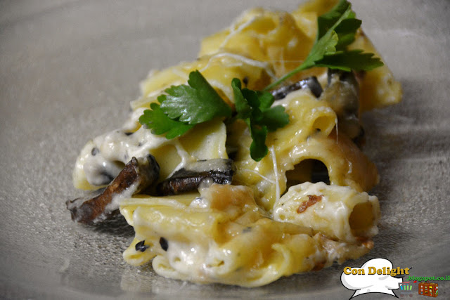 פסטה עם גבינות Cheese and pasta