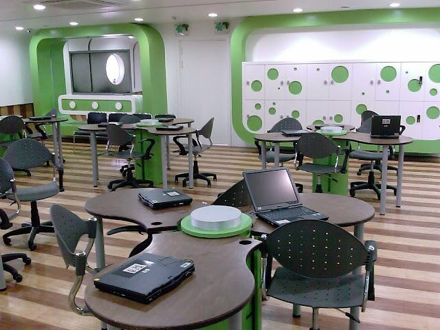 aulas del futuro, colegios
