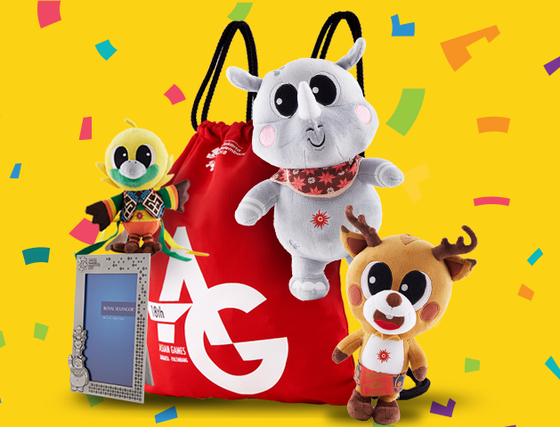 Kosakata Bahasa Inggris Tentang Souvenir Boneka Maskot, Tumbler, Tas, Baju khas Asian Games 2018