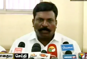 VCK chief Thirumavalavan press meet – Party review meeting after election defeat