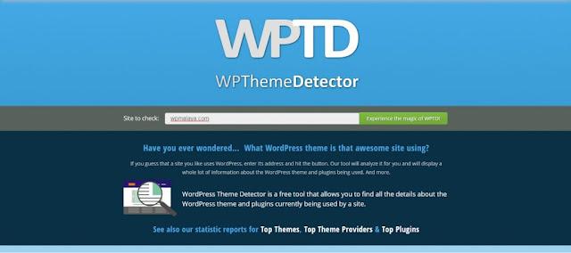 Cara Semak Tema Yang Digunakan Laman Web Wordpress