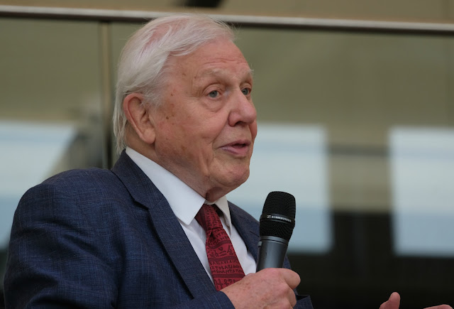 Sir David Attenborough opens 61st ABA Rare Book Fair