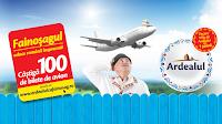 Castiga 100 de bilete de avion cu Fainosag ardealul