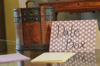 date box engagement party
