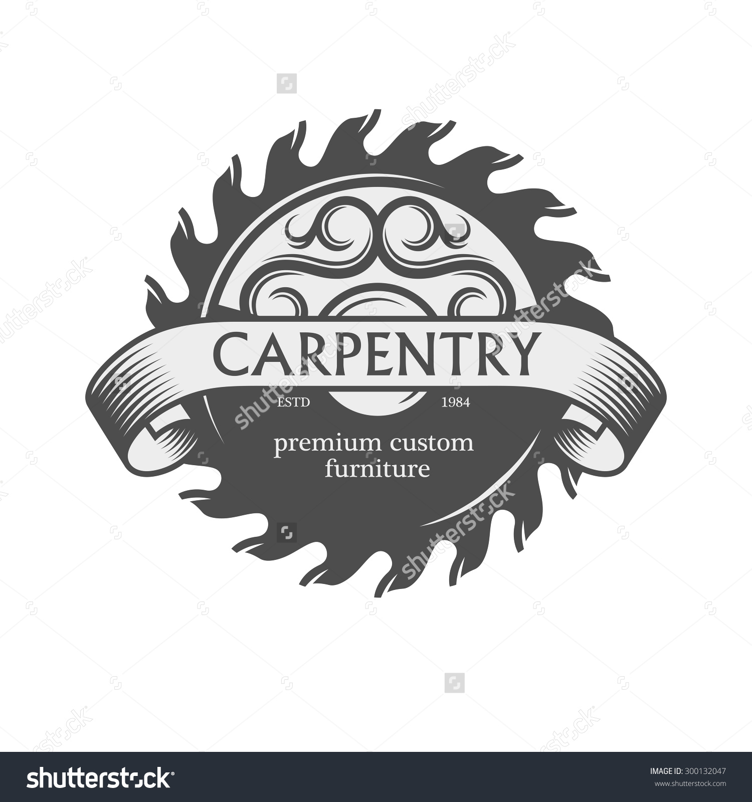 Reka Karya Doors Vintage Carpentry Logo Ideas