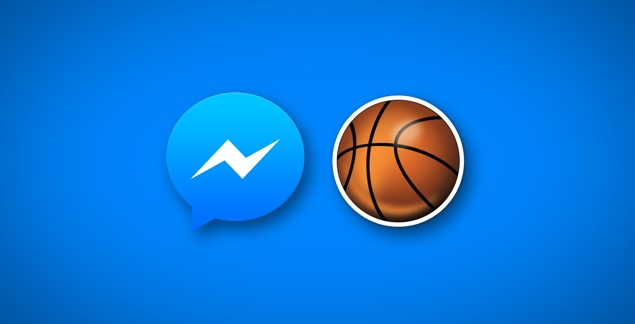 Now You Can Play Basketball in Facebook Messenger
