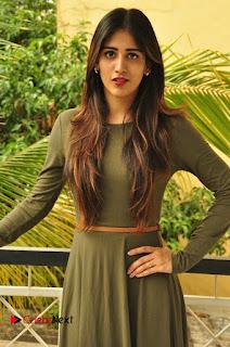 Chandini Chowdary in Spicy Short Dress at Thikka Movie Visit to Cancer Striken Children