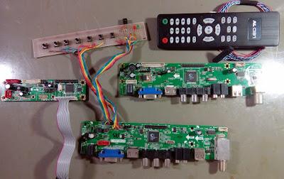 Placas Universais de LCD