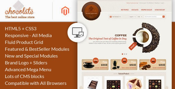 Chocolate Magento Template