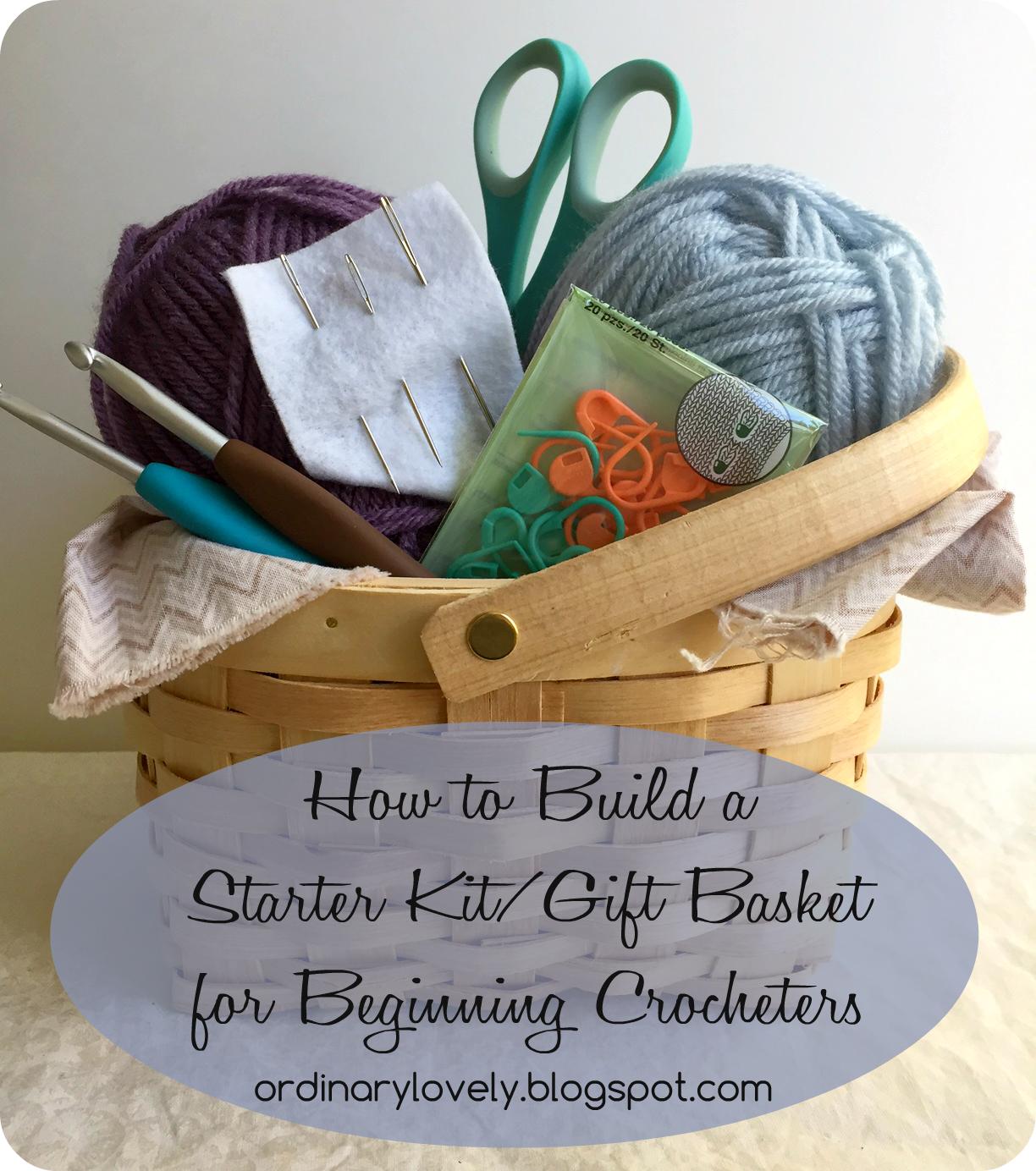 Ordinary Lovely Crochet Starter Kit Or Gift Set For Beginners