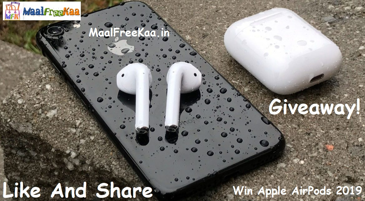 Apple AirPods (2019) International Giveaway - Freebie