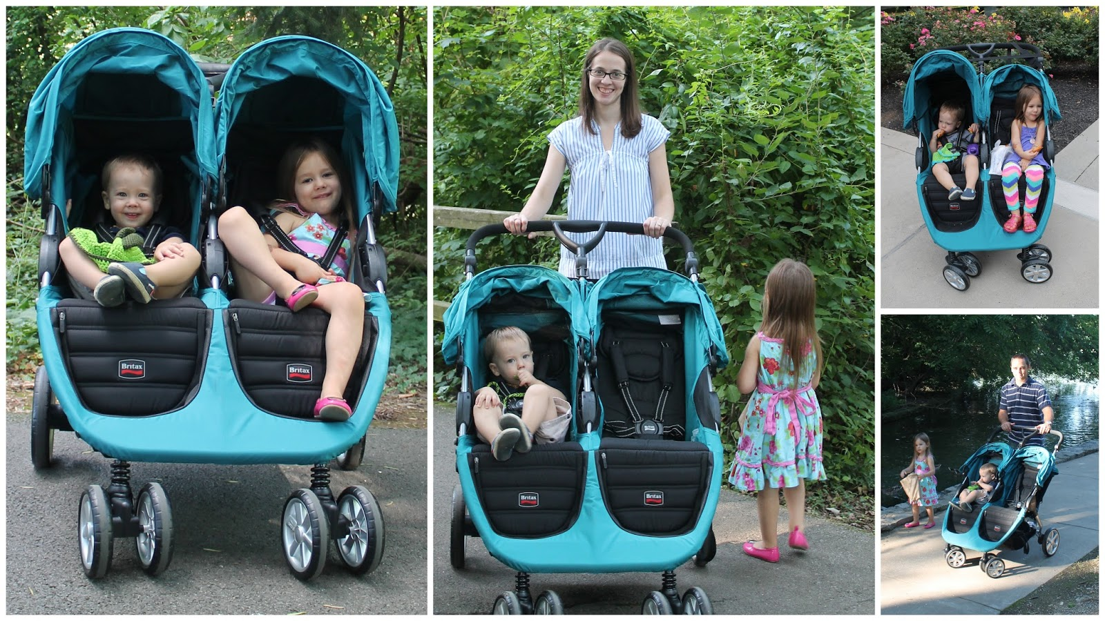 Britax B Agile Double Stroller Review Thrifty Nifty Mommy