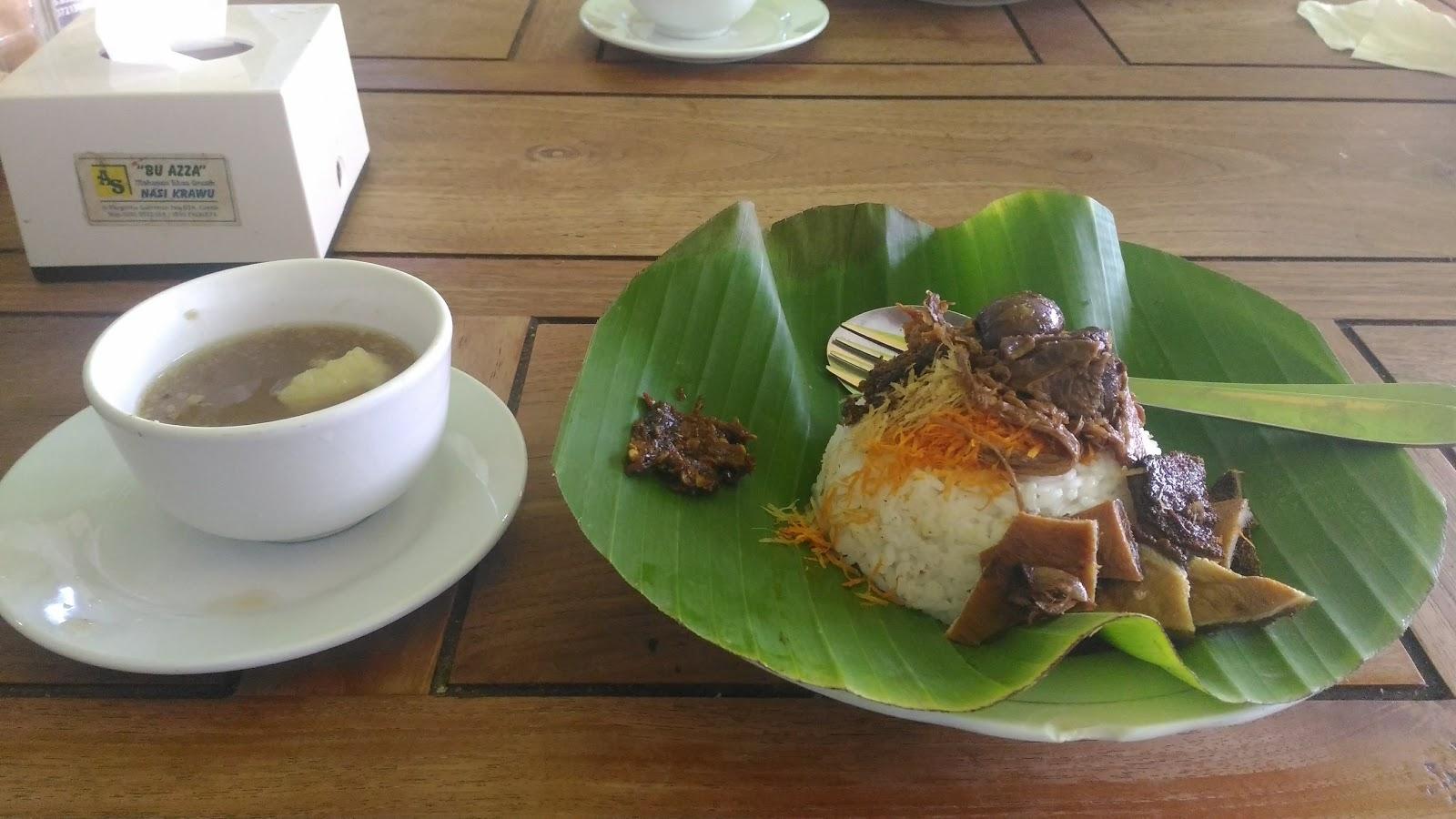 Rekomendasi Makan nasi krawu Gresik, harga per porsi + Lokasi