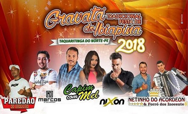 Prefeitura de Taquaritinga do Norte divulga datas e atrações da tradicional festa de Gravatá do Ibiapina