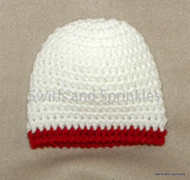 Swirls And Sprinkles Basic Newborn Beanie Crochet Pattern