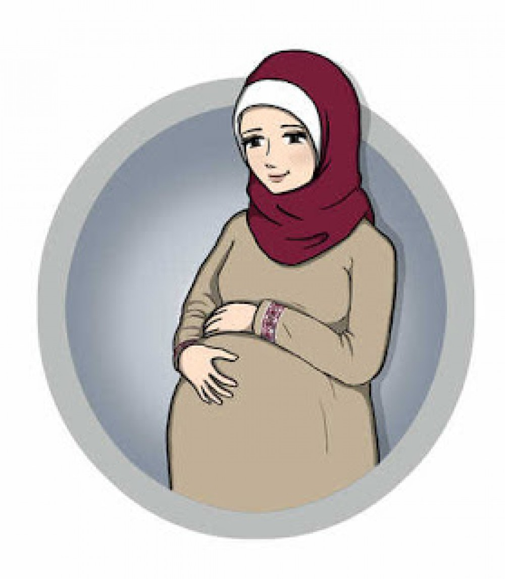 9800 Gambar Kartun Muslimah Hamil HD Terbaik